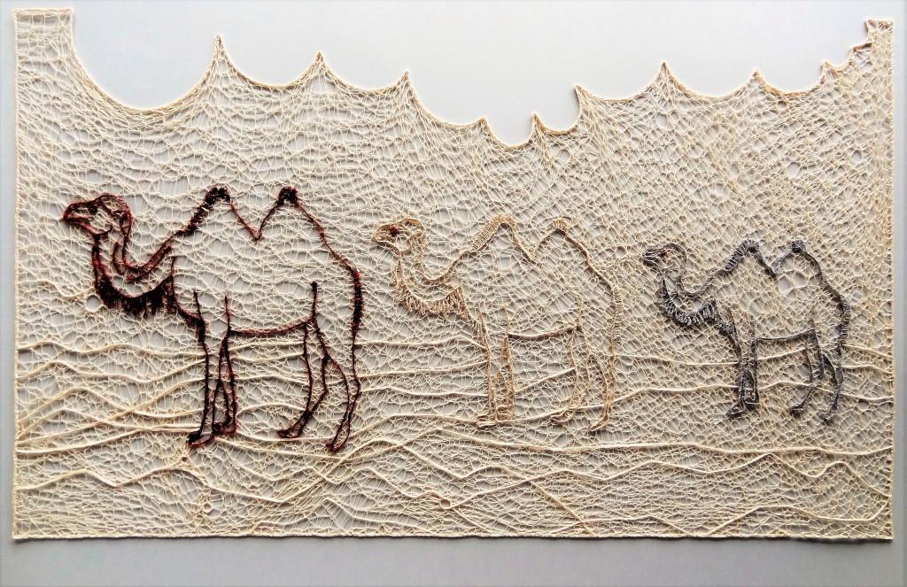 Unterwegs nach..., Kat. B, Mariet Visser-Bokkers, 3. Preis