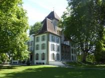 Dentelles au parc du château de Jegenstorf 2017